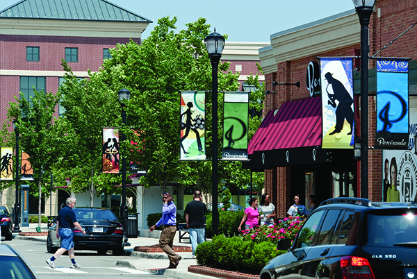 Peninsula Town Center, Hampton, VA Design Architect