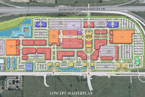 Liberty Center Conceptual Master Plan by inPLACE Design