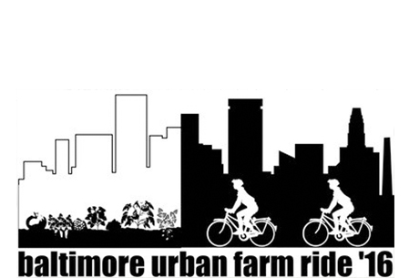 Urban Farm Bike Ride Logo Design Architect