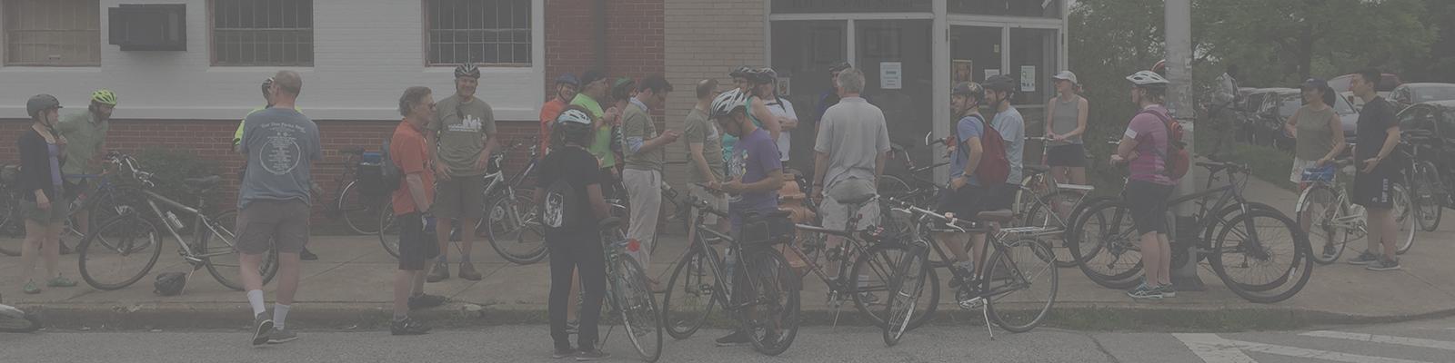 Baltimore Urban Farm Bike Ride 2017