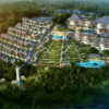 Aerial View Royal Venya Resort Ubud Bali inPLACE Design Architect