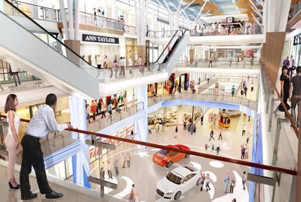 Nirmal Lifestyle mall view - inPLACE Design Architect